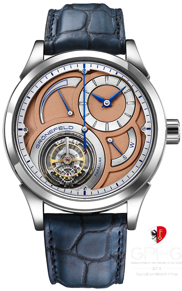 Parallax tourbillon