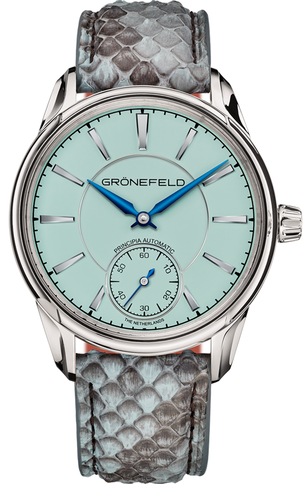 1941 Principia automatic<br>Turquoise dial front