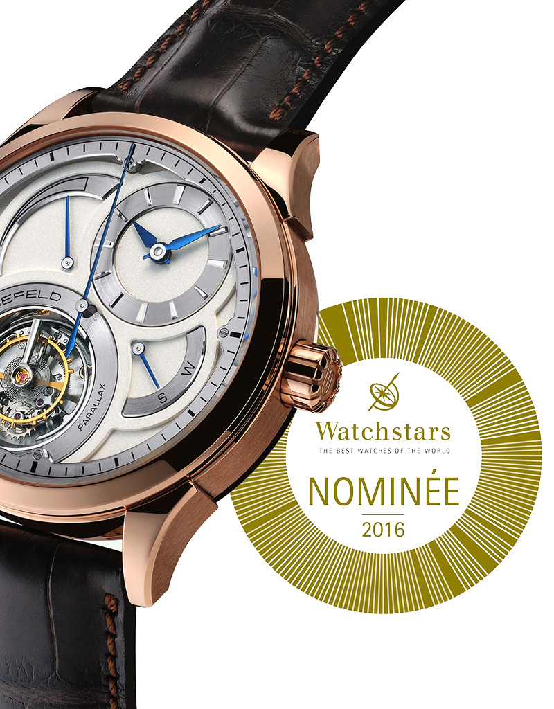 Parallax Tourbillon nominated