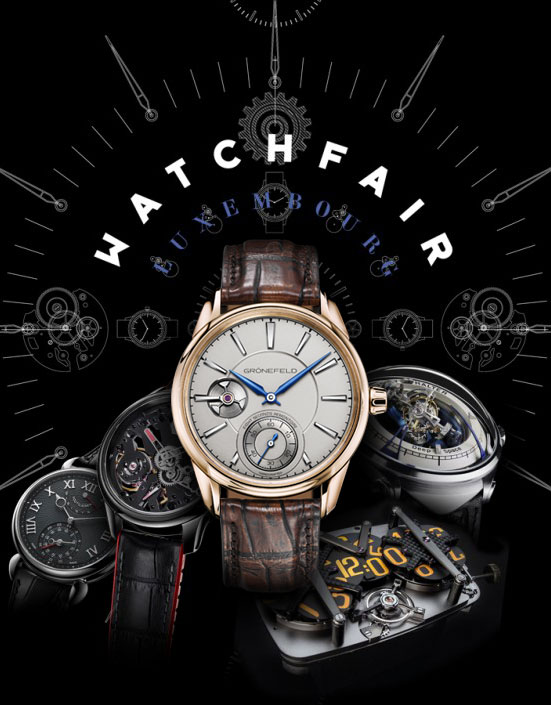 Grönefeld exhibits at the Watch Fair Luxembourg